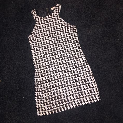 houndstooth pattern clothes one clothing dresses skirts houndstooth pattern dress
