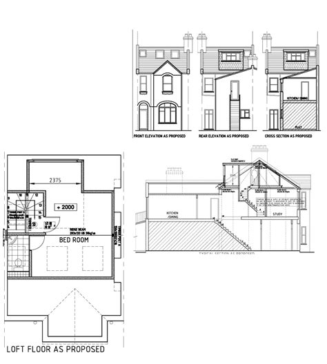 terraced house loft conversion floor plan terraced house loft conversion floor plan home design