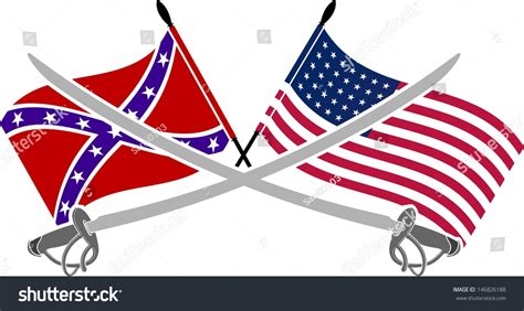 Civil War South Flag Usa civil war flags and south crossed www imgkid