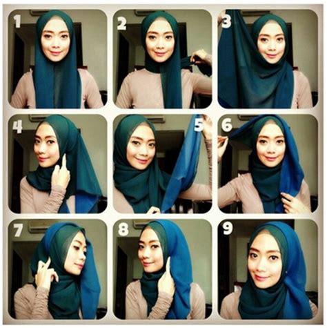 gambar tutorial hijab formal inspirasi tutorial hijab ethnic formal look 2016