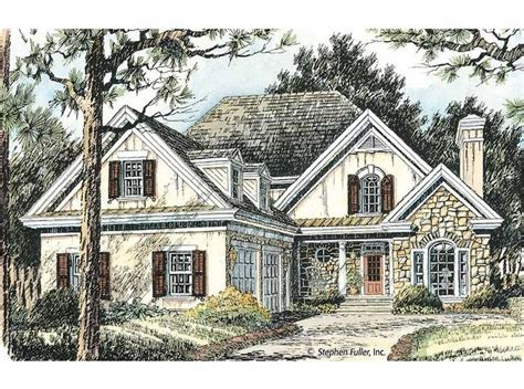 Eplans Cottage House Plan Charming And Gracious 2175 Eplans Cottage House Plan