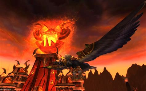Druid In Flight world of warcraft cataclysm pc review gametactics