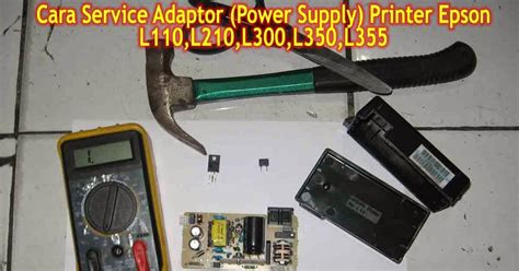 Adaptor Printer Epson L210 pusat modifikasi printer infus cara service adaptor printer epson l110 l120 l210