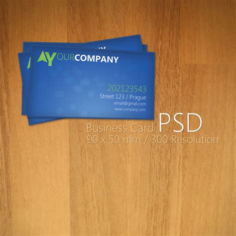 business card template psd 20 free business card psd templates to designbump