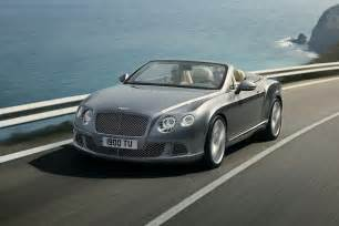 Bentley News 2012 Bentley Continental Gtc Convertible Photos And Info