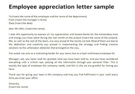 appreciation letter to staff | scrumps