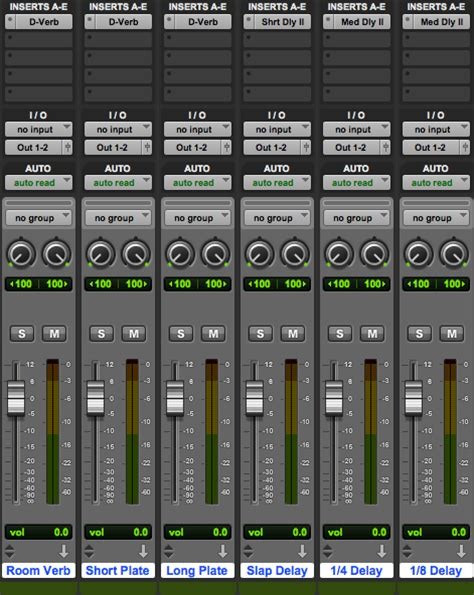 Session Templates The Basics Pro Tools Production Pro Tools Templates