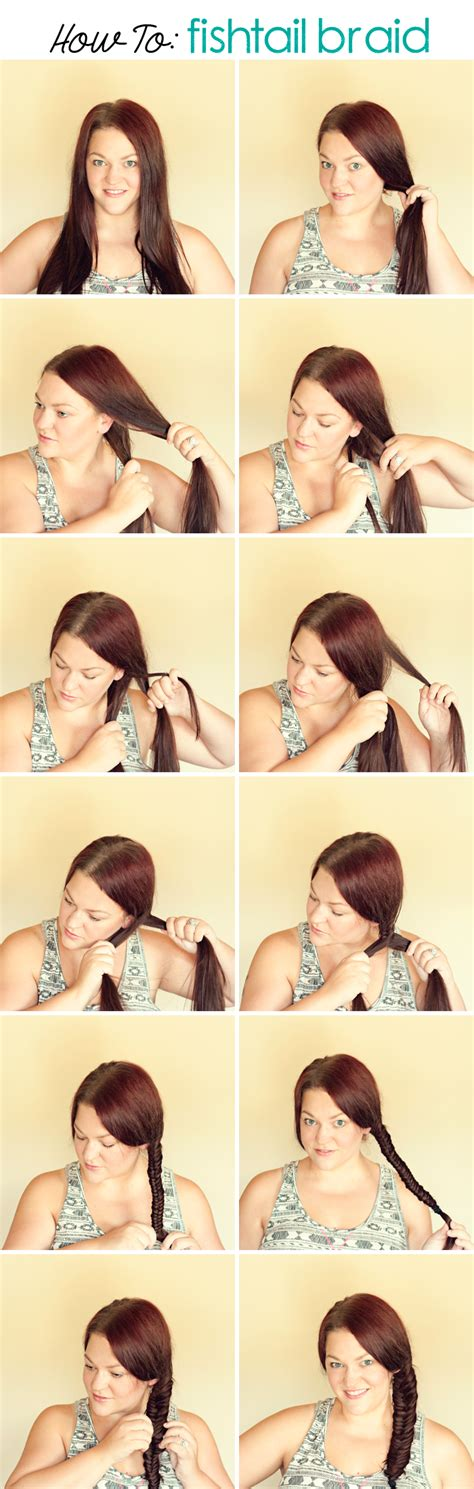 steps to show how to make fish tail favload how to do fishtail braid