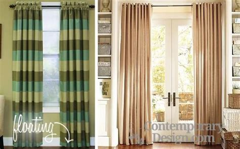 Should Dining Room Curtains Touch The Floor Should Curtains Touch The Floor