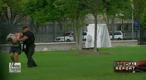 white house fence jumper pok 233 mon fan jumps white house fence with pikachu hat and doll ny daily news