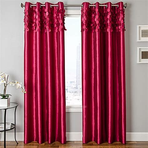 emily curtain buy softlines emily 84 inch grommet window curtain panel