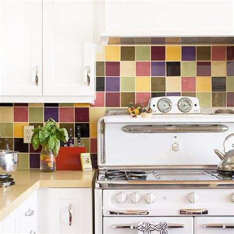 colorful kitchen backsplash ideas mauve