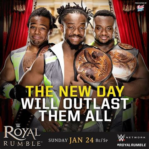 Outlasts Them All 2 by Royal Rumble 2016 The New Day Xavier Woods Kofi