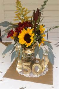 ideas for 50th wedding anniversary centerpieces 2 50th wedding anniversary centerpiece golden anni