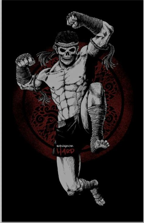 new tattoo kickboxing the idea of this illustration was coming from muay thai
