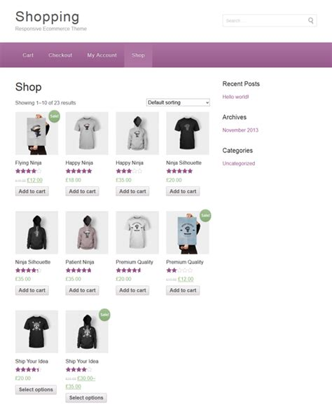 themes woocommerce free 11 of the best free woocommerce themes for wordpress