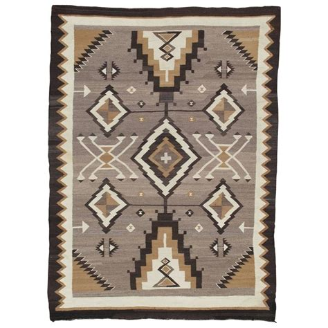 antique navajo rugs for sale antique navajo carpet rug handmade wool rug gray color for sale at 1stdibs