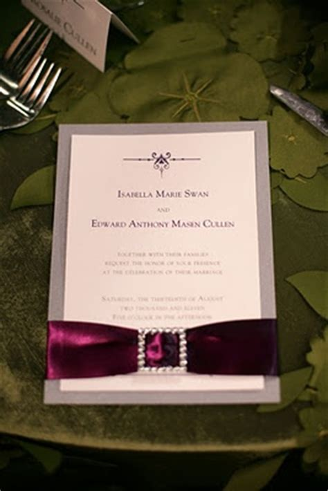 twilight saga wedding invitation twilight wedding inspired invitation utah events by design paper