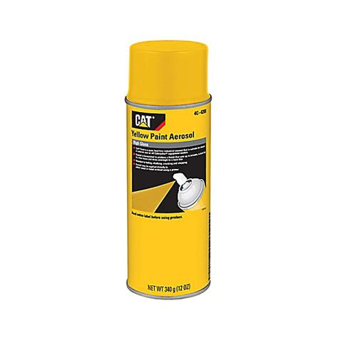 yellow paint high gloss cat parts store