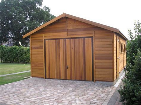 wooden garage designs the advantages of wooden garages why choose wood as material deavita