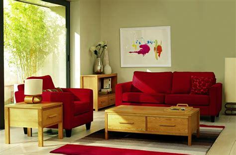 Girls Bedroom Decorating Ideas On A Budget une d 233 co de salon avec du temp 233 rament chaud en rouge