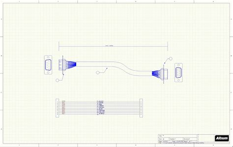 how to use schematic cad drawings for cable assemblies part 1