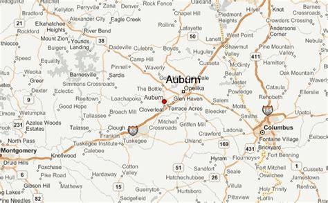 united states map auburn alabama auburn location guide