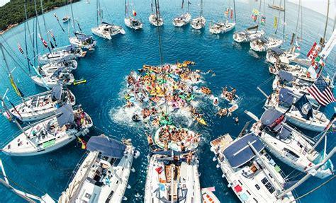 beginners guide to yacht week croatia - Yacht Week Boat