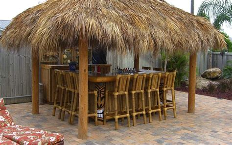 backyard huts big kahuna blog our recent tiki hut and tiki bar builds