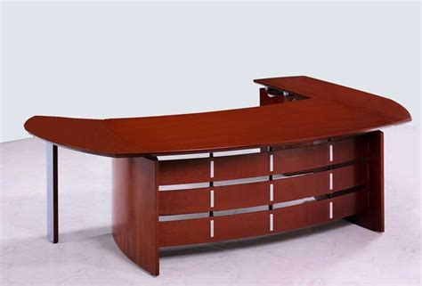 new contemporary cherry wood executive office desk oval ebay