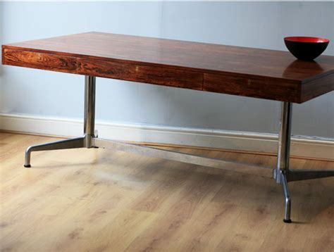 Desk Furniture For Home by Rosewood Desk Metal Base Techno Two Columbia Roadtwo