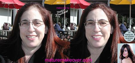 hair makeovers for women over 50 50 year old woman hair before and after
