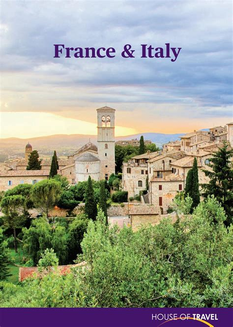 france 2018 tourist 9782067225855 france italy brochure 2018 by house of travel issuu