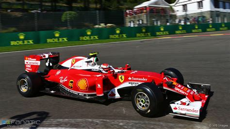 Ferrari Spa kimi raikkonen ferrari spa francorchs 2016 183 f1 fanatic