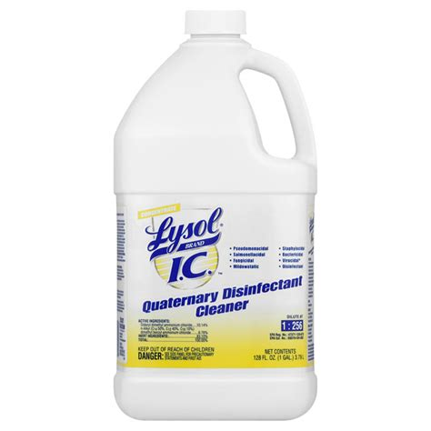 Disinfecting Hospital Floors - professional lysol ic quaternary disinfectant