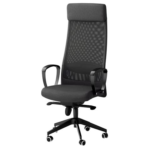 Markus Swivel Chair Vissle Dark Grey Ikea Ikea Swivel Office Chair