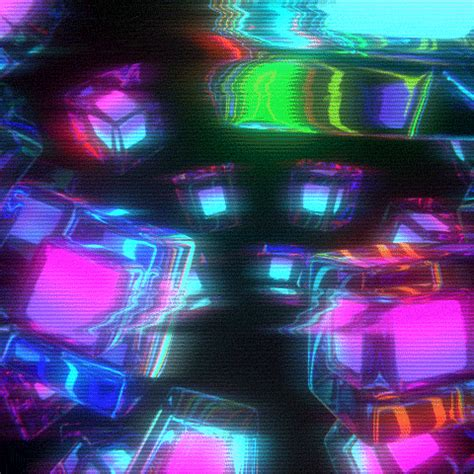 imagenes con movimiento neon trippy gif find share on giphy