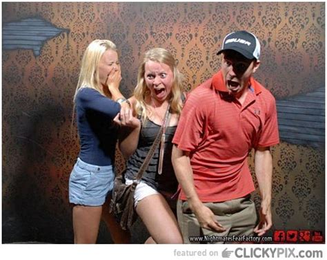 haunted house funny pictures 25 funny images of people getting scared clicky pix