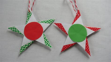 Origami Gift Tag - 5 pointed origami gift tags or decorations with