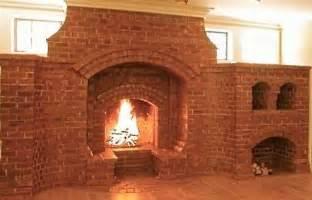 corner fireplaces corner brick fireplace pictures