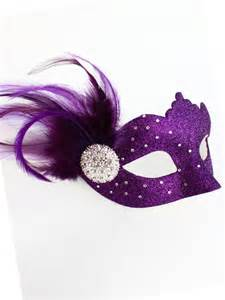 women purple venetian swarovski crystal masquerade mask