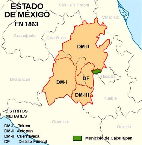 www refrendo estado de mexico archivo estado de m 233 xico 1863 svg wikipedia la