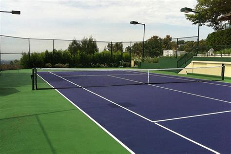 Backyard Tennis Courts by Triyae Grass Tennis Court In Backyard Various