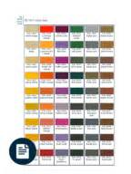 color list equivalence ip ral