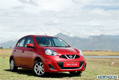 nissan micra india price locally produced nissan micra cvt launched starts at inr