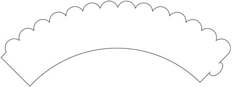 cupcake liner template blank cupcake wrapper template pictures to pin on