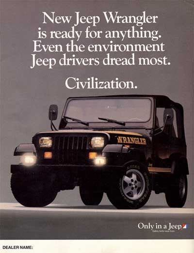 jeep wrangler ads vintage jeep ads jeep wrangler ad jeepers creepers