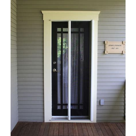 Retractable Screen Front Door Best Doors With Retractable Screens Exterior Doors And Screen Doors