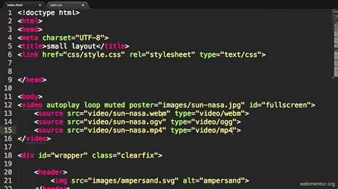 html background image code html5 fullscreen background