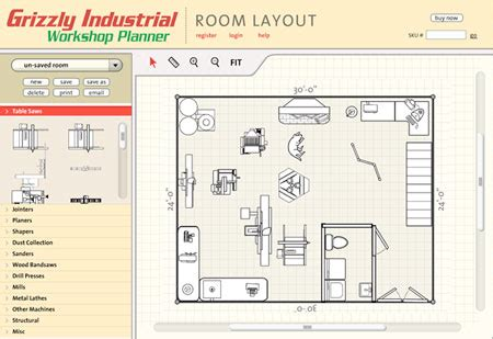workshop layout planner grizzly com 174